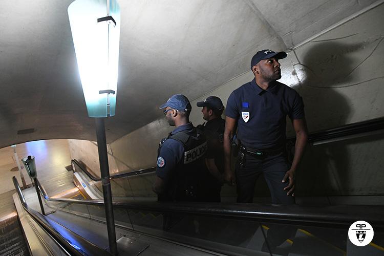 Surveillance par les policiers régionaux des transports