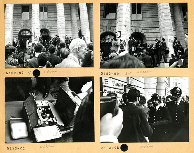 Evacuation-du-théâtre-de-lOdéon-14-juin-1968
