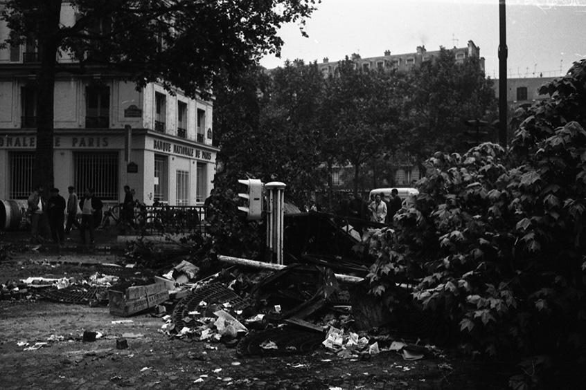 Manifestation-étudiante-Bastille-13-mai-1968
