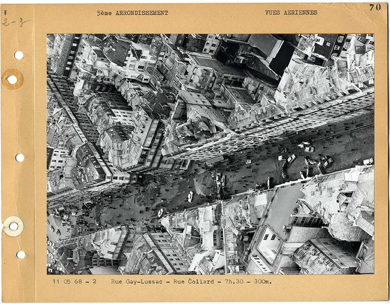 Vue-aérienne-Rue-Gay-Lussac-Rue-Collard-11-mai-1968