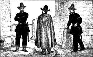 Gardiens de Paris en 1848