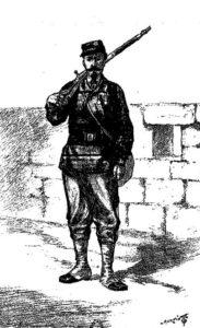 Gardien de la paix mobilisé (1870)